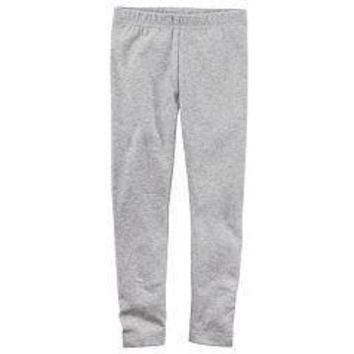 American Apparel Leggings in Heather Grey