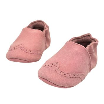baby girls Boys Newborn Soft Nubuck Shoes first walker
