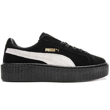 Puma x Rihanna - Women's Suede Creepers (Black/Star White/Black)