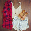 No Problem Flannel Top