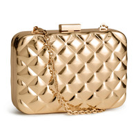H&M Metal clutch bag £14.99