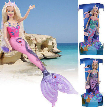 Kid Magic Mermaid Doll Girls Toys Anime Classic Toys Birthday Gift
