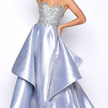 ONETOW Mac Duggal 66010M Beaded Bodice Ball Gown