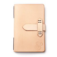 PREMIUM LEATHER REFILLABLE JOURNAL (NATURAL)