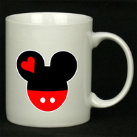 Mickey and Minnie Disney Matching A For Ceramic Mugs Coffee ***
