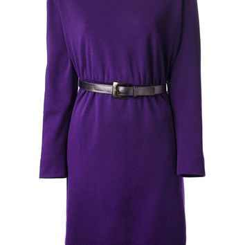 Yves Saint Laurent Vintage belted dress