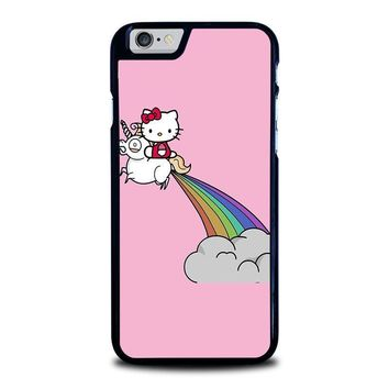 hello kitty unicorn iphone 6 6s case cover  number 1