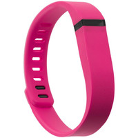 Fitbit Flex Replacement Wrist Band With Clasps Size Small - Pink