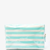 Striped Cosmetic Pouch | FOREVER 21 - 1053714497