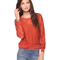 Floral Lace Top   FOREVER21 - 2000023979
