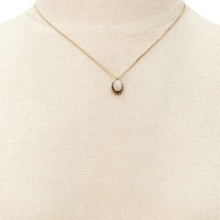Faux Stone Pendant Necklace | Forever 21 - 1000221453
