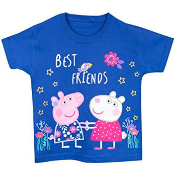 Peppa Pig Girls' Peppa Pig T-Shirt Size 2T