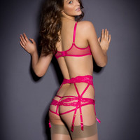 New In by Agent Provocateur - Lacy Suspender