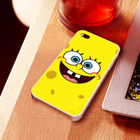 Sponge Bob  - iPhone 4 Case,iPhone 4s for iphone 5 case, samsung s2 case,samsung s3 case, samsung s4 case