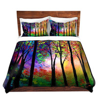 Duvet Cover collaboration between Aja and DiaNoche Designs, King, Queen, Twin, Toddler, Autumn Eve 2