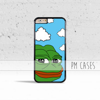 Pepe The Frog Meme Case Cover for Apple iPhone 4 4s 5 5s 5c 6 6s SE Plus & iPod Touch