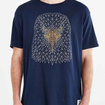 Supremebeing Oxbow Eagle Long Tee- Navy