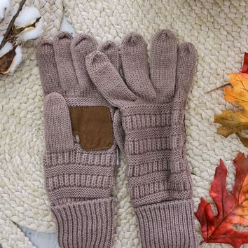 Breckenridge Smart Tip Gloves -  Taupe