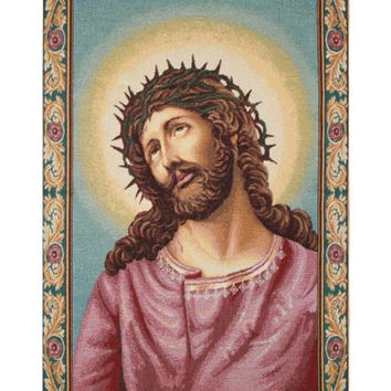 Christs Thorns Coronation Tapestry Wall Art Hanging