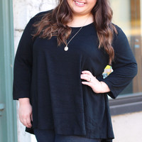 Everyday Basic in Black {Curvy}