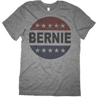 Bernie Sanders Shirt - Retro Vote Bernie Sanders 2016 Button T Shirt