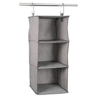 3-Shelf Hanging Closet Organizer Gray Birch - Threshold™