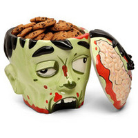 Zombie Head Cookie Jar - goHastings