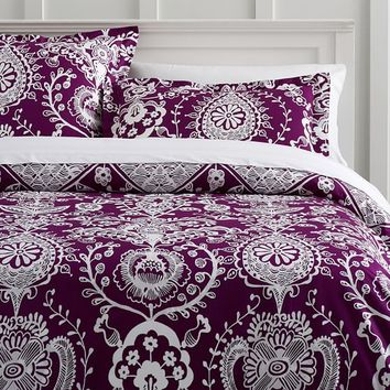 Natalia Duvet Bedding Set with Duvet Cover, Duvet Insert, Sham, Sheet Set + Pillow Inserts