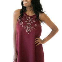 Holiday Spirit Beaded Dress