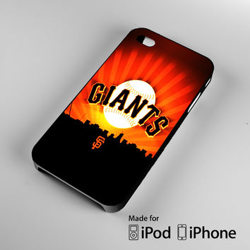 San Francisco Giants A1140 iPhone 4 4S 5 5S 5C 6, iPod Touch 4 5 Cases
