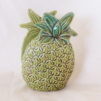 Napkin Holder Pineapple Ceramic Vintage by 4oldtimesandnew on Etsy