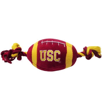 University of Southern California (USC) Trojans Doggie Plush Football