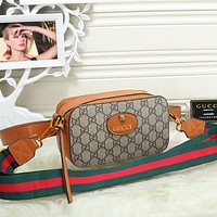Gucci Women Fashion Leather Waist Pack Satchel Shoulder Bag Crossbody