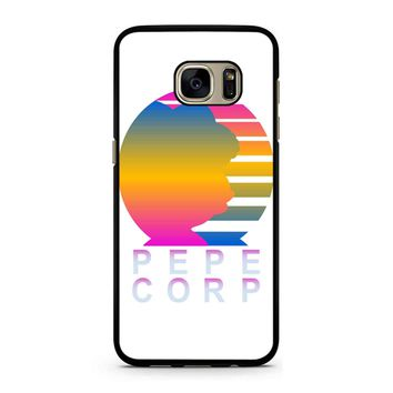 Pepe Aesthetic Pepe Corp White Samsung Galaxy S7 Case