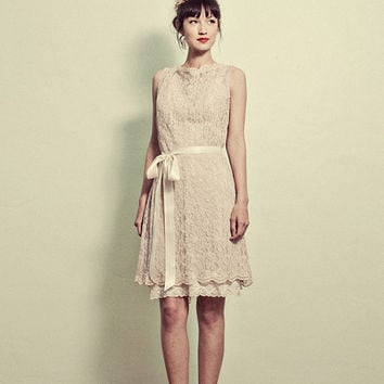 Lace Shift Dress Vintage inspired - Various Fabrics - Made to Order