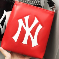 NY hot selling fashion lady embossed casual shopping shoulder bag Red