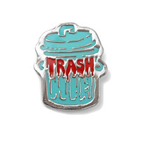 Trash Lapel Pin