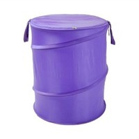 Purple Bongo - Durable Dorm Laundry Hamper College Dorm Laundry Supplies Essential Dorm Stuff Laundry Supplies
