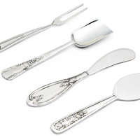 Asst of 4 Cheese Serving Utensils, Cheese Boards & Cheese Board Sets