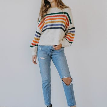 BF: Rainbow Day Dream Sweater