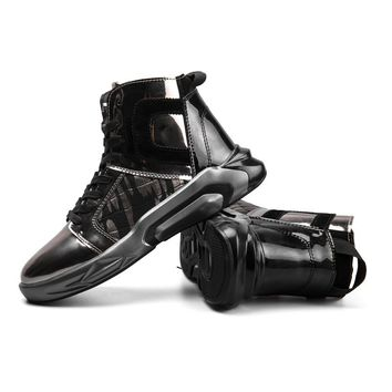 New Funky Fashion GRAM EPOS 2018 Men's Leather High Tops S