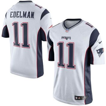 Youth New England Patriots Julian Edelman Nike White Game Jersey