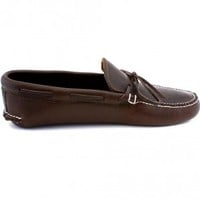 Mens Handmade Full Grain Bullhide Moccasin for Men