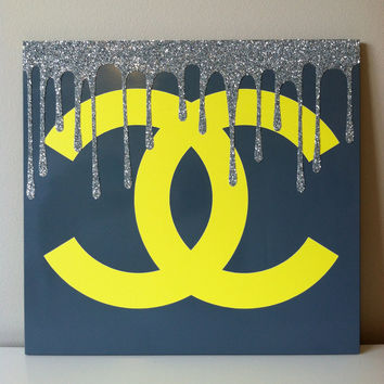 Chanel Canvas by CanvasFlair on Etsy