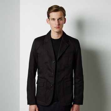 Cotton Gabardine Workstitch Jacket by Comme des Gar amp;amp;#231;ons Shirt Man