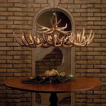"""The Appalachian"" Whitetail Antler Chandelier"