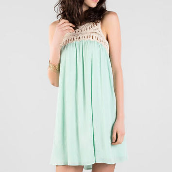 Elva Crochet Dress
