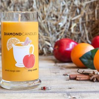 Spiced Orange Cider Ring Candle