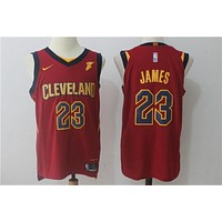 Basketball Jerseys Cleveland Cavaliers # 23 LeBron James Red
