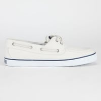 Sperry Top-Sider Bahama Womens Boat Shoes White  In Sizes
